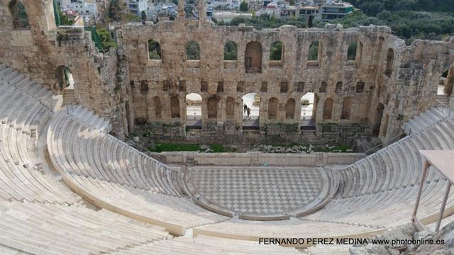 Archeologikos Choros Theatro Irodou Attikou Areopagitou Dionisiou, Athina 105 55, Grecia 640w