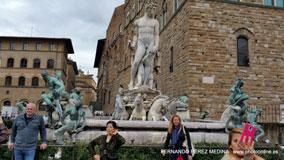 Piazza della Signoria, Florencia, Italia
