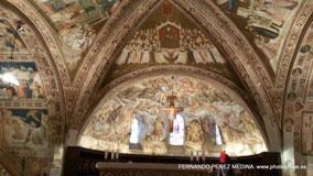 Basilica di San Francesco d'Assisi, Asis, Italia