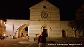 Basilica di Santa Chiara, Asis, Italia
