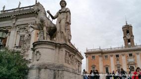 Cordonata, Roma, Italia