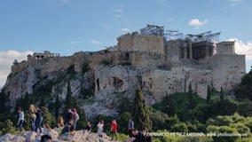 Areopagus Hill, Theorias, Atenas, Grecia