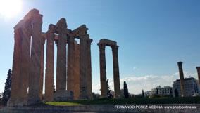 Templo de Zeus Olímpico Athens, Grecia