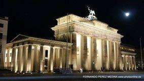 Puerta de Brandenburgo, Berlín, Alemania